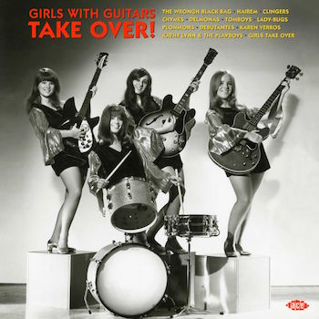 V.A. - Girls With Guitars : Take It Over ( 180gr Vinyl)